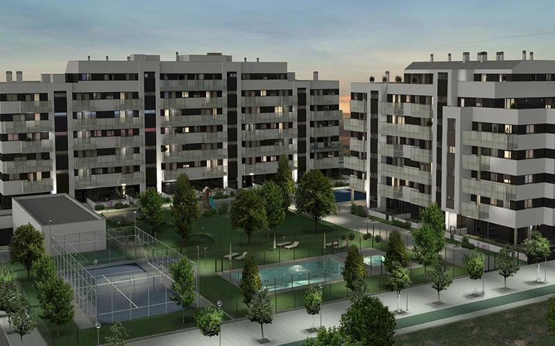 79 viviendas Aelca